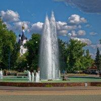 У фонтана. :: Laborant Григоров