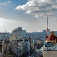 Взгляд на город с крыш :: Виталий Павлов