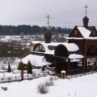 Купальня, источник преподобного Саввы :: Анна Воробьева