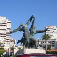 Торремолинас.Скульптура у моря. :: Таэлюр