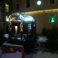 Новогоднее украшение домов в Петербурге. :: Светлана Калмыкова