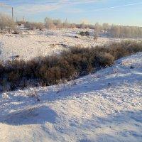 Зима в овраге . :: Мила Бовкун