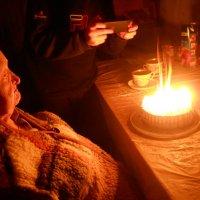 Праздничный торт для моей мамы :: Галина