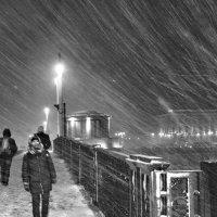 Светопреставление на Благовещенском мосту. :: vlad alferow