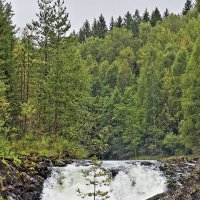 Водопад Кивач :: Nikolay Monahov