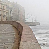 опять туман :: Елена