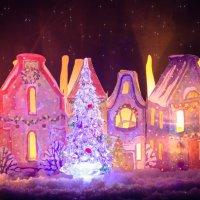 Рождественский городок :: Iuliia Efremova