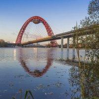 Москва-река. Первызе заморозки :: Александр Лебедевъ