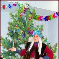 Под Новый год и баба Яга подарки ждёт!:) :: Андрей Заломленков