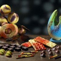 Шоколадные скульптуры :: Владислав фото