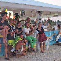 The Box - пляж эмоций. Команда, которая эмоции дарила... :: Александр Резуненко