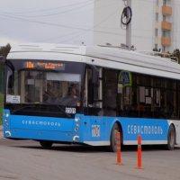 Автономный троллейбус на линии :: Александр Рыжов