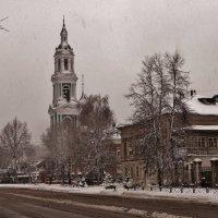 Опять мокрый снег . :: Святец Вячеслав