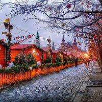 Новогодняя Москва :: Наталья Лакомова