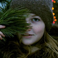 ох уж эти зеленые глаза :: Мария Скородумова