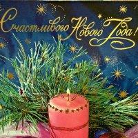 Пускай, как новогодняя свеча, горит любовь, светла и горяча! :: Farin Алёна
