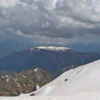 ЧИМГАН, h-3300м, на вершине, плато Паламхан. :: Виктор Осипчук