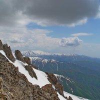 ЧИМГАН, h-3300м, на вершине. :: Виктор Осипчук