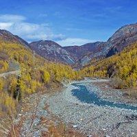 Осень в предгорье Хамар-Дабана :: Анатолий Иргл