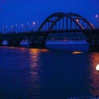 Ночной  Рыбинск :: Alexandr Яковлев