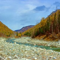 Осенний пейзаж :: Анатолий Иргл
