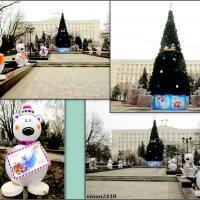 Парадный строй снеговиков :: Нина Бутко