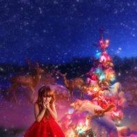 Сказочная новогодняя ночь :: Наталья Золотарева