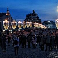 Огни Большого Москворецкого моста :: Анатолий Колосов