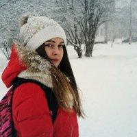 Красивая девушка из Петрозаводска :: Кирилл Фельк
