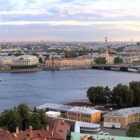 Вид на Санкт-Петербург с Петропавловской крепости. :: Виктор Егорович