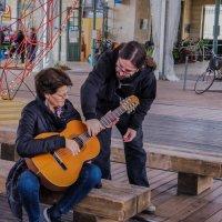 Обучение игры на гитаре :: Alla S.
