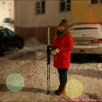 Девушка с рейкой... :: Кай-8 (Ярослав) Забелин