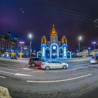 Новогодняя Москва 2018 :: Игорь Герман