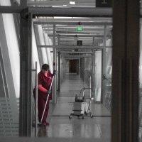 Уборка портала в ... :: Андрей Синявин