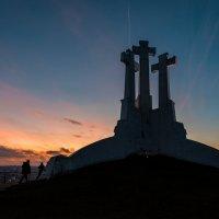 Вильнюс. Три креста. Вечер :: Pavel Shardyko
