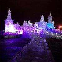 Ледяная крепость ... :: Лариса Корж