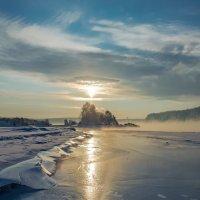Зимний закат :: Роман Кондрашин