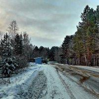 По дороге на Чусовское озеро. :: Пётр Сесекин