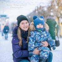 Зима в городе :: Анна Никонорова