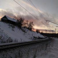 Утренние краски января :: Валерий Чепкасов