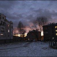 Ночь спускается :: galina bronnikova