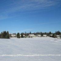 Зимний пейзаж :: Mariya laimite