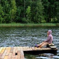 Рыбачка. :: Нина Бурченкова.