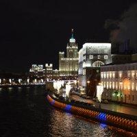 Ночная  Москва :: Ольга Беляева