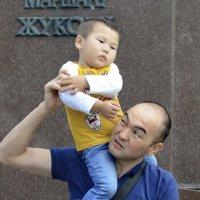 Отец и сын :: Марина Лучанская
