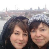 А мы видели Новый год в Москве :: Людмила Монахова