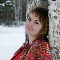 В снежном лесу :: Евгения Шикалова