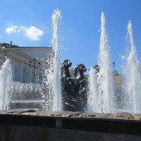 Фонтан Москва :: Вера Щукина