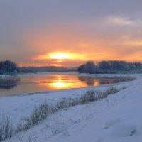 Закат на окраине города :: Нина северянка