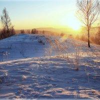 Закат за горы.. :: Александр Шимохин